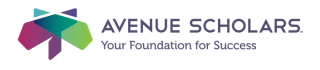 Avenue Scholars Logo Horizontal